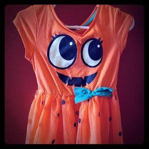 ❤ H&M pumpkin dress